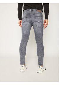 Guess Jeansy Super Skinny Fit Chris M0YA27 D4381 Szary Super Skinny Fit. Kolor: szary. Materiał: jeans #4