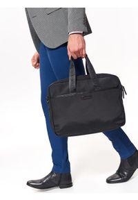 Czarna torba TOP SECRET w kolorowe wzory