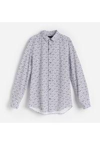 Biała koszula Reserved paisley