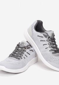 Szare buty sportowe Renee do biegania