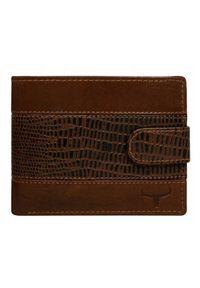Brązowy portfel BUFFALO WILD
