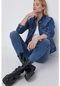 Jacqueline de Yong - Jeansy Mikka. Stan: podwyższony. Kolor: niebieski
