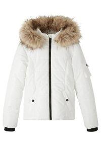 Biały płaszcz bonprix na zimę #1