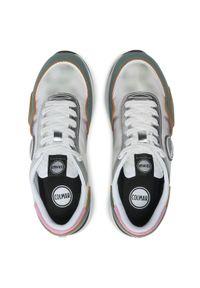 Colmar - Sneakersy COLMAR - Darren Dye 123 Sage Green/Pink/White. Okazja: na co dzień. Kolor: biały. Materiał: zamsz, materiał, skóra. Szerokość cholewki: normalna. Sezon: lato