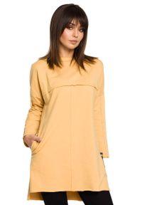 Żółta bluzka z długim rękawem MOE