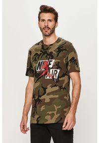 T-shirt Jordan z nadrukiem, z okrągłym kołnierzem