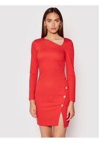 Patrizia Pepe Sukienka koktajlowa 8A0900/AC93-R725 Czerwony Regular Fit. Kolor: czerwony. Styl: wizytowy