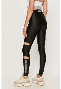 Czarne legginsy LABELLAMAFIA z nadrukiem