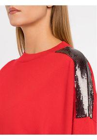 Czerwony sweter klasyczny The Kooples