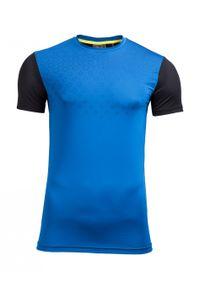 Niebieska koszulka termoaktywna outhorn gładkie