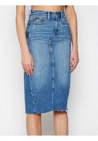 Niebieska spódnica jeansowa Polo Ralph Lauren