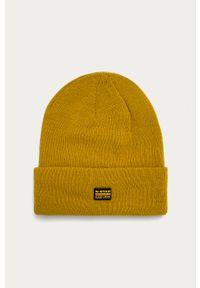 Żółta czapka G-Star RAW
