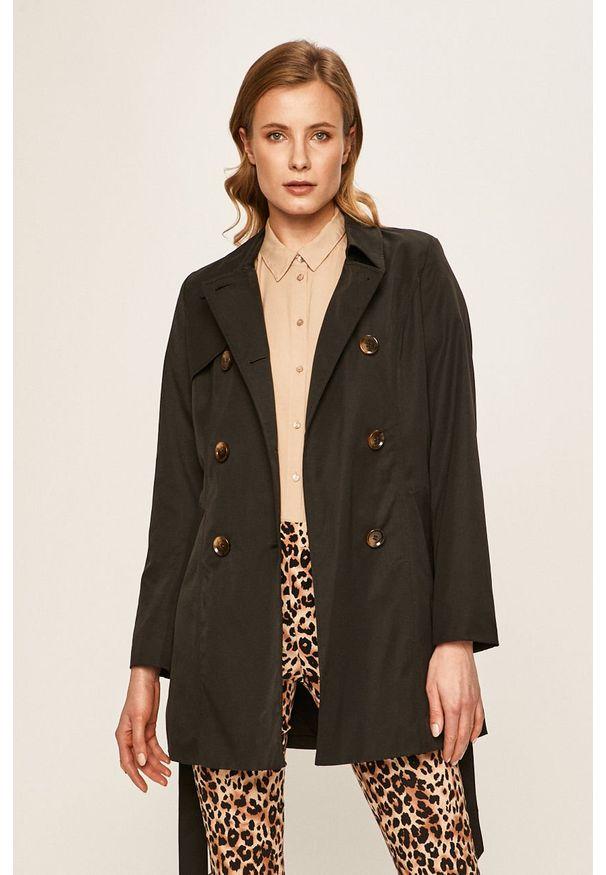 Czarny płaszcz only bez kaptura