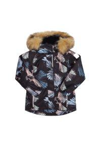 Czarna kurtka zimowa Reima #6