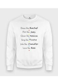 MegaKoszulki - Bluza klasyczna Friends. Styl: klasyczny