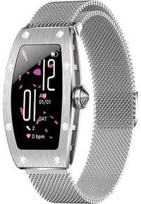 Smartwatch Kumi K18 Srebrny. Rodzaj zegarka: smartwatch. Kolor: srebrny