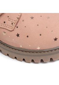 Różowe buty zimowe Lasocki Kids