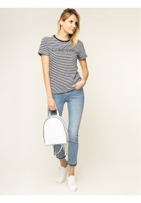 Niebieskie jeansy slim Calvin Klein