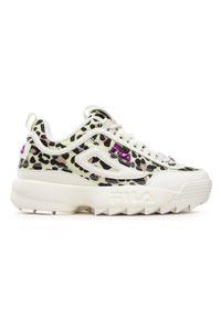 Fila Sneakersy Disruptor A Kids 1011082.79G Biały. Kolor: biały