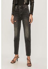 Czarne jeansy loose fit Miss Sixty klasyczne