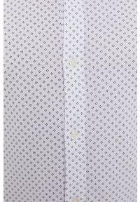 TOMMY HILFIGER - Tommy Hilfiger - Koszula. Typ kołnierza: button down. Kolor: biały. Materiał: tkanina, bawełna. Długość rękawa: długi rękaw. Długość: długie