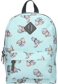 Disney - Plecak szkolny Dumbo niebieski. Kolor: niebieski