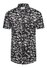 Guess Koszula M1GH26 WDTV1 Czarny Regular Fit. Kolor: czarny