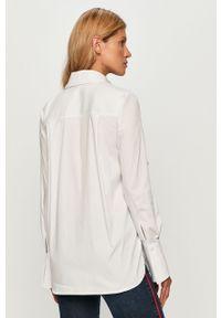 Biała koszula Trussardi Jeans casualowa, na co dzień, długa