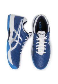Niebieskie buty do tenisa Asics
