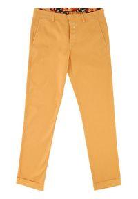 Vistula Spodnie materiałowe Flint XA0613 Żółty Regular Fit. Kolor: żółty. Materiał: materiał #3