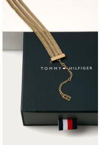 Złoty naszyjnik TOMMY HILFIGER metalowy