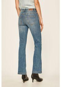 Niebieskie jeansy bootcut Jacqueline de Yong