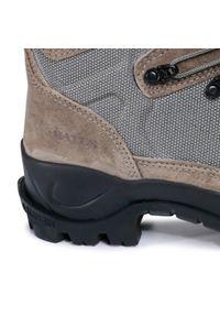 Zielone buty trekkingowe Bates z cholewką