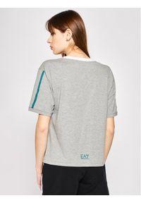 EA7 Emporio Armani T-Shirt 3HTT08 TJ29Z 3905 Szary Regular Fit. Kolor: szary