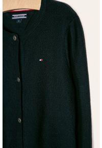 Niebieski sweter TOMMY HILFIGER casualowy, na co dzień #3