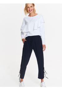Niebieskie spodnie TOP SECRET eleganckie, na co dzień