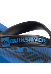 Czarne klapki Quiksilver