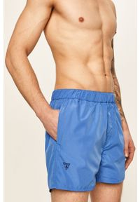Niebieskie kąpielówki Guess Jeans