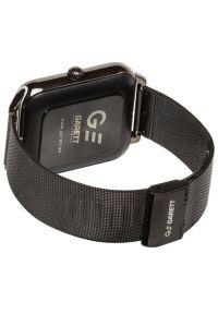Czarny zegarek GARETT casualowy, smartwatch