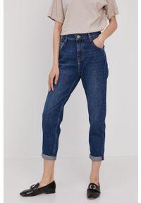 Niebieskie jeansy loose fit Mustang