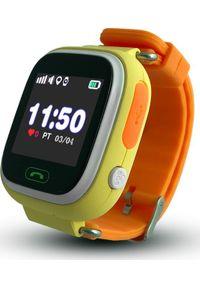 Smartwatch CALMEAN Touch Pomarańczowy. Rodzaj zegarka: smartwatch. Kolor: pomarańczowy