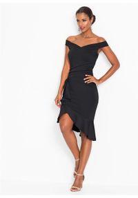 Czarna sukienka bonprix