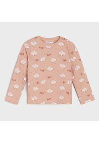 Koszulka w jeże - Różowy
