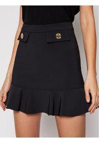 Czarna spódnica mini Elisabetta Franchi