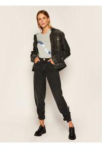 Emporio Armani T-Shirt 3H2T6F 2JQAZ 0616 Szary Regular Fit. Kolor: szary