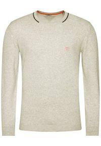 Guess Sweter Stretch M0YR66 Z2NO0 Szary Regular Fit. Kolor: szary