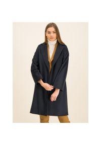 Niebieski płaszcz Marella