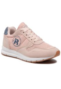 Refresh - Sneakersy REFRESH - 72894 Nude. Okazja: na co dzień, na spacer. Kolor: różowy. Materiał: skóra ekologiczna, materiał. Szerokość cholewki: normalna. Sezon: lato. Styl: casual #1