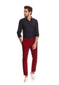 Czerwone spodnie TOP SECRET długie