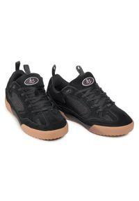Czarne buty sportowe Es z cholewką